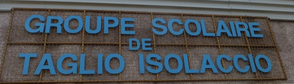 Groupe scolaire de taglio-Isolaccio